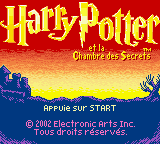 Harry Potter and the Chamber of Secrets GBC ROM
