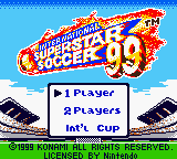 International Superstar Soccer 99 GBC ROM